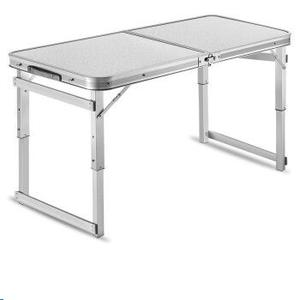 Tianye Outdoor Height Adjustable Folding Table with 4 Folding Chairs  Portable Camping Picnic Party Dining Table