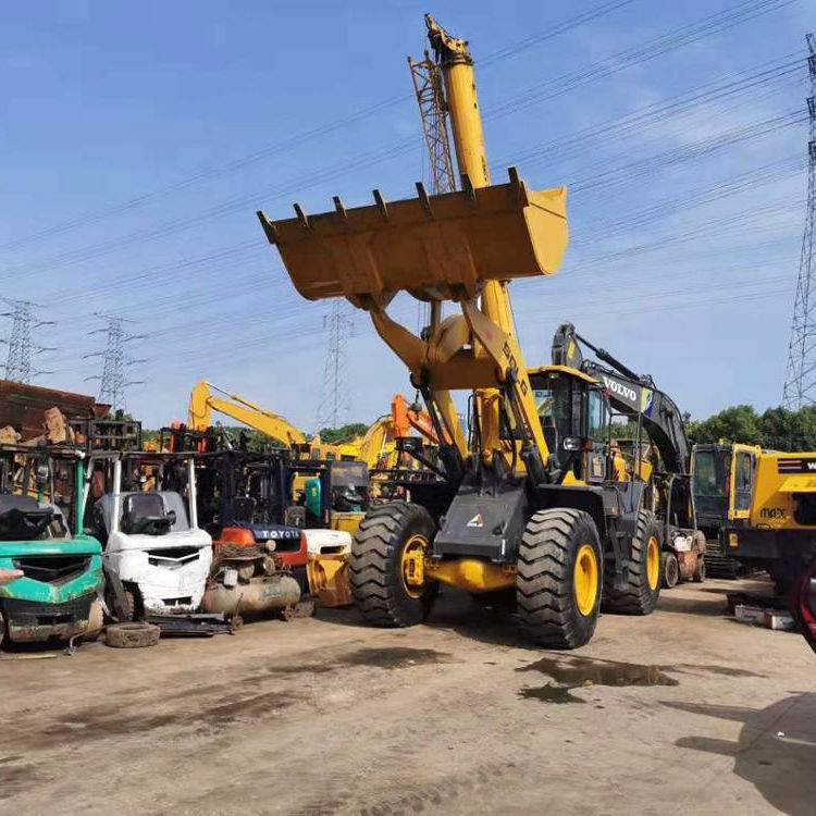 used SDLG 956 wheel loader low working hours , LG956L loader for sale
