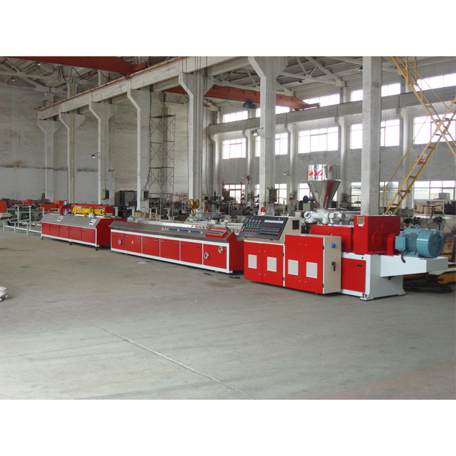 Pvc Doors And Windows Making Machine/plastic Door Frame Profile Extrusion Line
