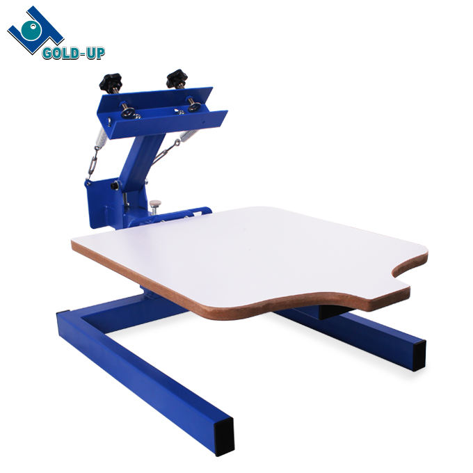 silk screen printing table for t-shirt printing