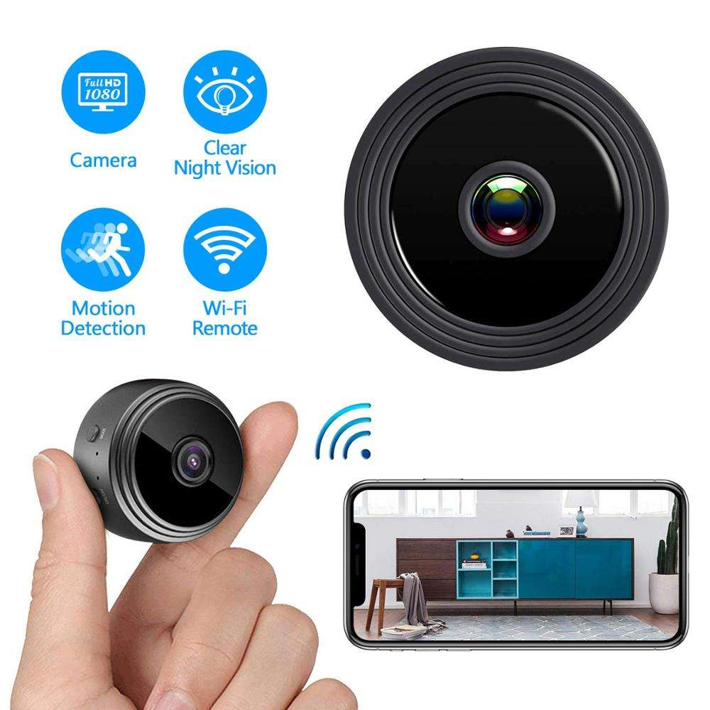 Mini CCTV WiFi Camera Wireless IP P2P Camera Small Micro Spy Camera Motion Detection Night Vision