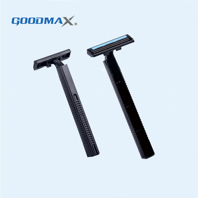 Men's travelling disposable razor twin blades, flexible shaving razor blades, oem razor blade