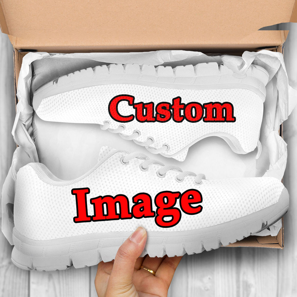 Custom Your Own Logo/Design/Name/Text/Photo 3D Full Print Casual Man Basketball Sneakers Factory Wholesale 1Pair Drop Shipping