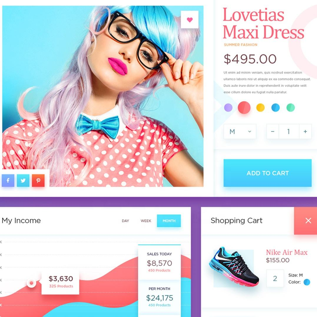 E-commerce Website UI Website Design