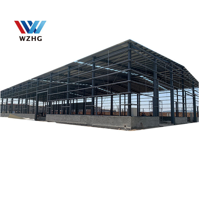 low price Industrial Construction Building workshop large span galvanized Steel Structure space Frame