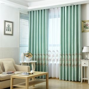 Royal Turkish bedroom luxury embroidered blackout curtains for manufactured home
