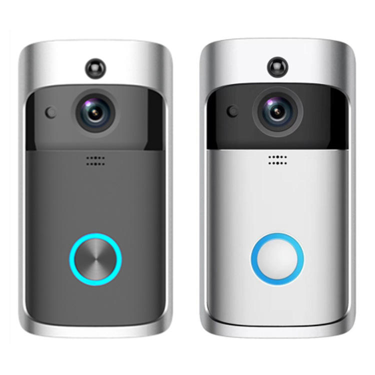 2020 Home video Smart WiFi doorbell wireless doorbell with camera intercom Wireless Ring Doorbell