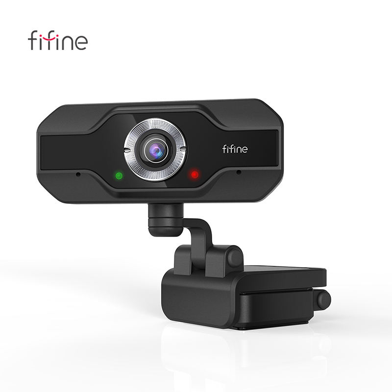 Fifine K432 HD 1080P Streaming Webcam Built-in Mic 2 Mega Pixels Computer Web Camera for Conference Video