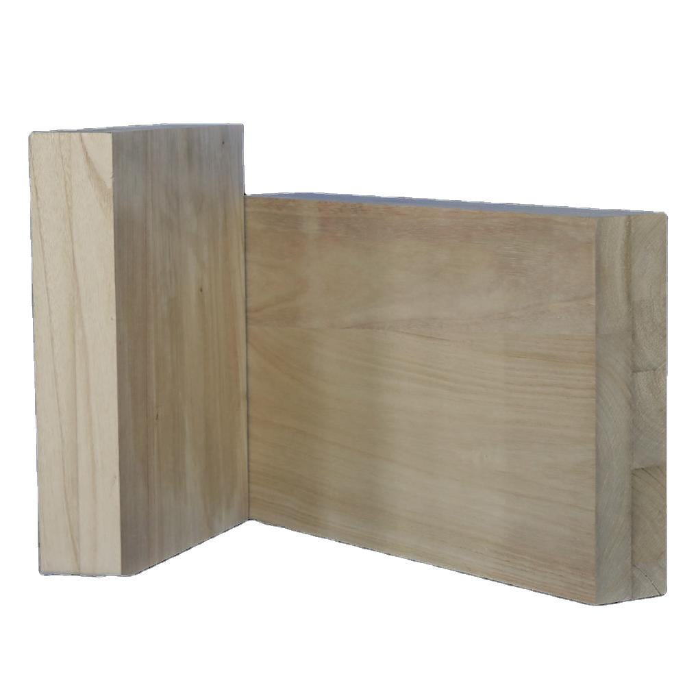 Paulownia wood cross laminated timber