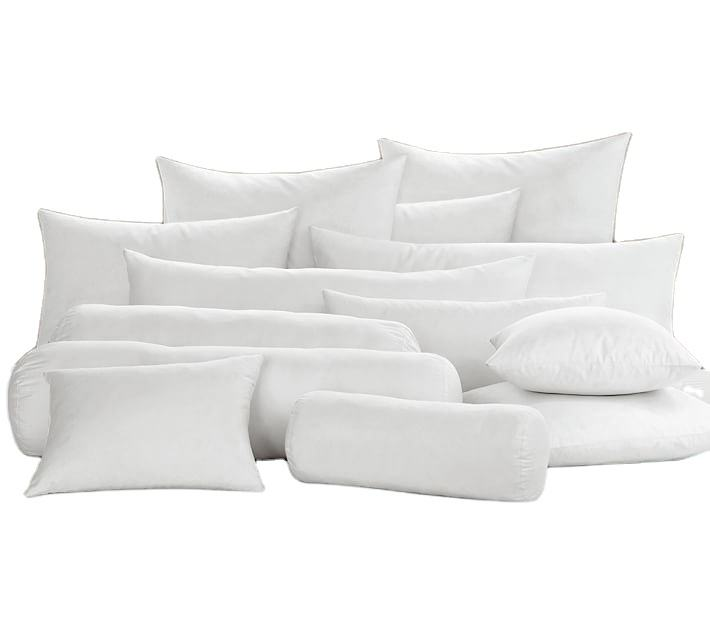 Hot Selling High Quality Square White Pillow Inserts Inner cushion filling wholesale cushion inserts
