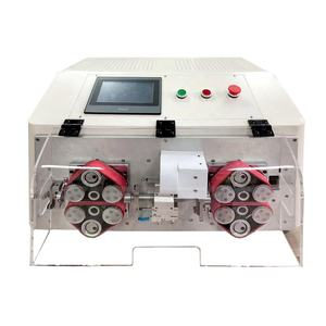 JCW-CS07 14mm O.D Cable Stripper Wire Stripping Machine Servo Motorized Multicore Cable Cutting and Stripping Machine
