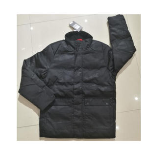 branded stocks padded warm jacket cheap garment stock men winter jacket stock lot