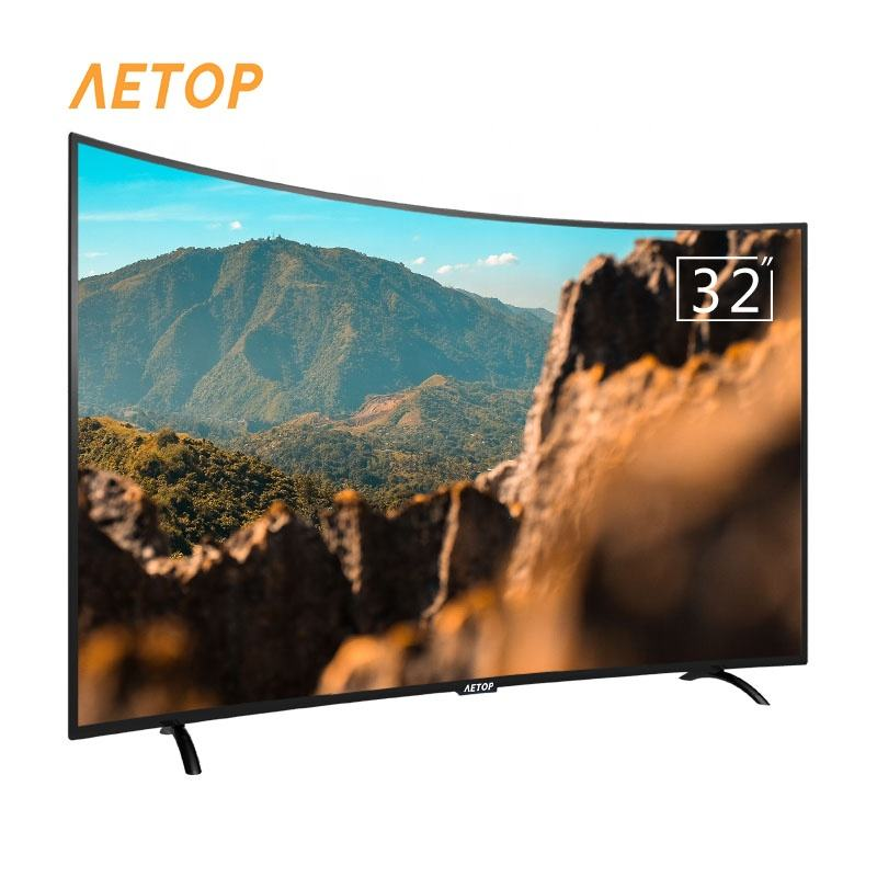 Cheap price retail curved tv android 8.0 remote control smart tv television oled led tv 32 smart