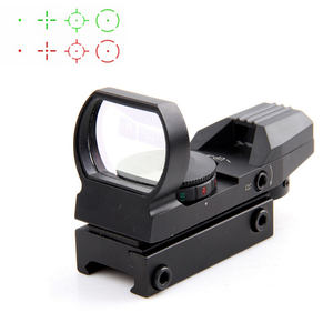 1x33 Tactical Fighter holografische 4 Reticle Rood/Groen Dot sight reflex scope Green 20mm/11mm HD101