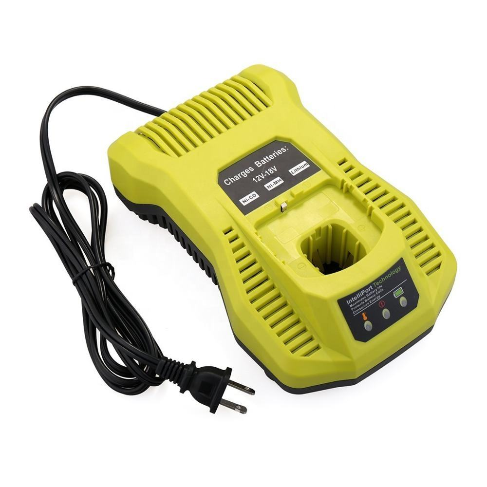 Replacement charger P117 P118 Compatible with Ryobi 12V 18V One+ Plus NiCd NiMh Lithium Battery P103 P105 P107 P108