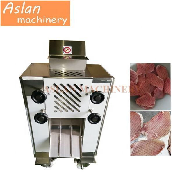 Tonkatsu pork meat tendering machine/portable beef meat tenderizer machine/Automatic meat hamstring machine
