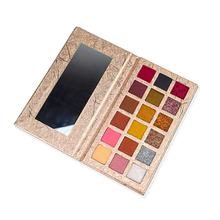 Permanent makeup factory price 18 colour bright eyeshadow cosmetics wholesale made in china private label eyeshadow