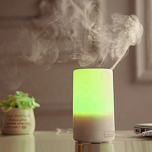 70ml USB Ultrasonic diffuser Led light humidifier aromatherapy essential oil diffusor