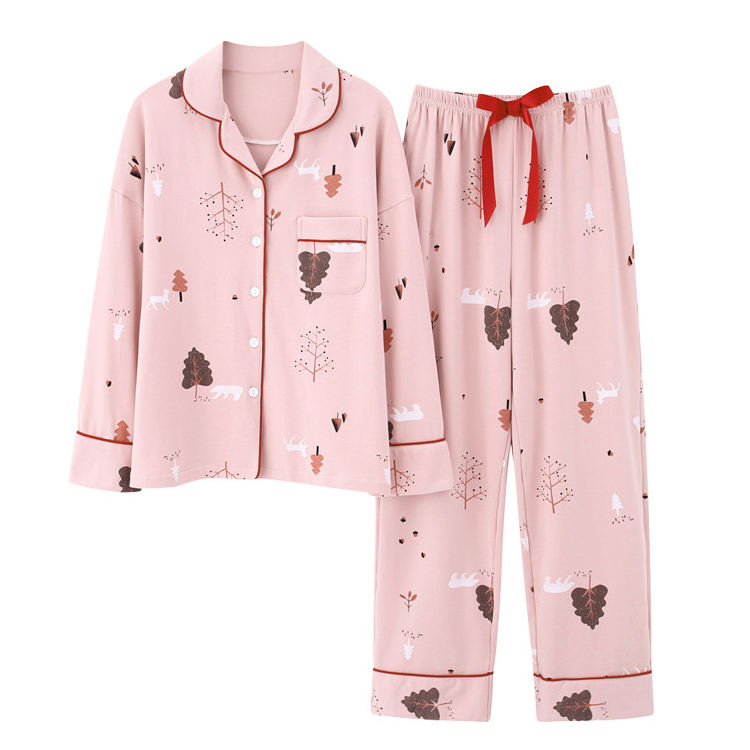 2020 Wholesale 100 Cotton Cute Pajamas Set High Quality Nightgowns Fancy Nighties Plus Size Sexy Sleepwear For Women