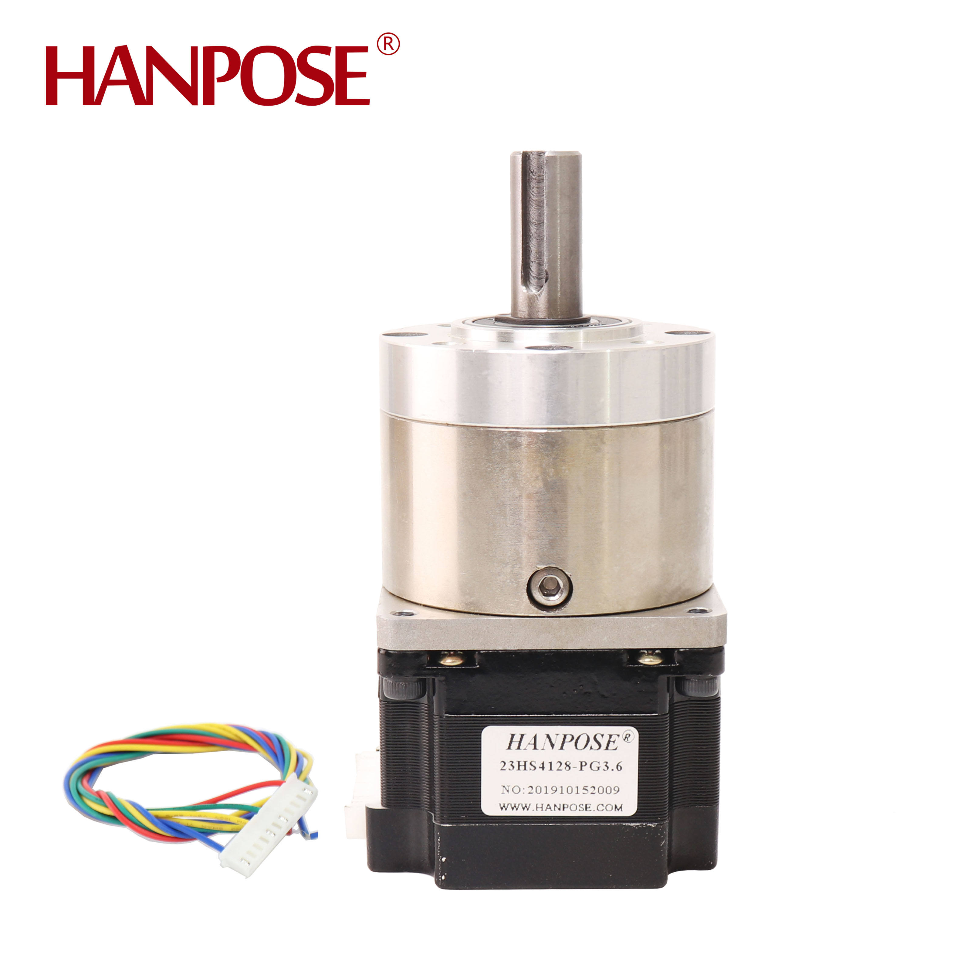 1.8 degree stepper motor Ratio 3 level Optional Planetary 23hs4128-pg 42bygh stepper motor 1 degree stepper motor