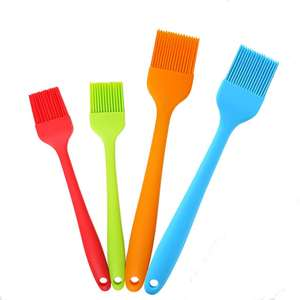 Silicone Basting Pastry Brush Olive Oil Baking Butter Cooking Silicone Brush