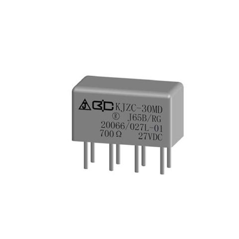 KJZC-30MD Hermetical Electromagnetic 2 Form C Relay0.3A 0.5A 2A Failure Rate L TVS for Military Aerospace Avionics