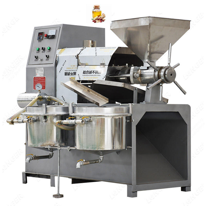 Small Automatic Peanut Oil Expeller Groundnut Oil Extraction Machine Price