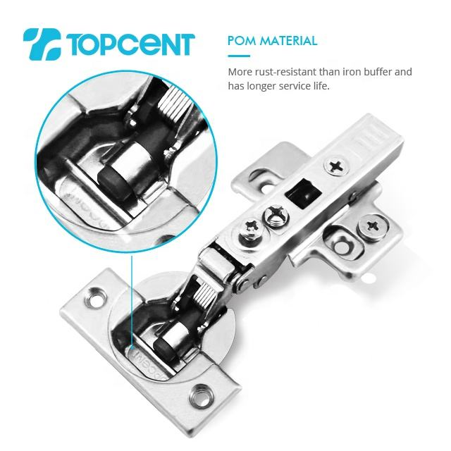 Topcent new type small angle furniture kitchen cabinet concealed soft close hinge