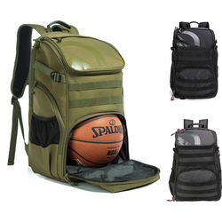 Factory Price Outdoor Sports Custom Sport Backpack with Ball Compartment