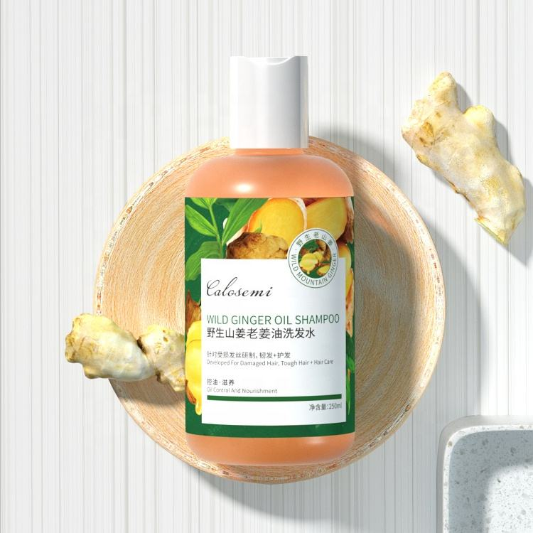 New Korean Patent Moisturizing Hair Anti-stripping Herbal Natural Wild Ginger Shampoo