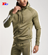 Wholesale High Quality Mens Gym Clothing Custom Fitness Dry Fit Jacket Men Sports Zipper Hoodies Workout Fashionable Sweatshirt