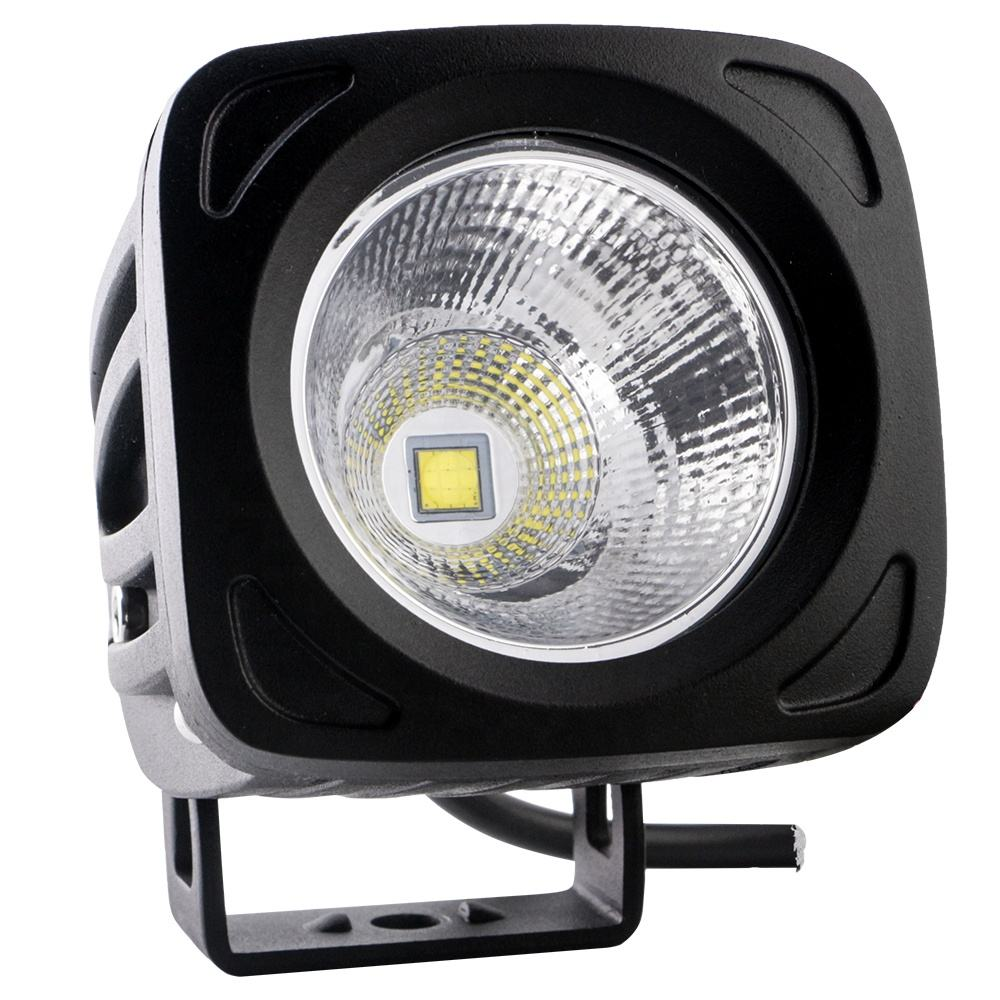 25W 3535 1 LED <span class=keywords><strong>Mobil</strong></span> Lampu LED 12V 24V Lampu Kerja LED <span class=keywords><strong>Mobil</strong></span> Lampu 2250LM Tahan Air IP67 6000K Putih