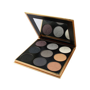 Organik Smokey Eyeshadow Palet Makeup Palet Grosir Private Label Eyeshadow Palet Makeup