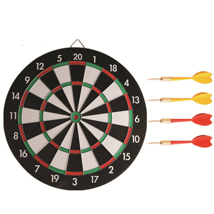 12 inches Paper DartBoard with 4 darts