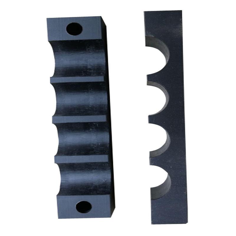 Độ bền cao ống ống kẹp bộ phận cài đặt thiết bị được sử dụng nylon ống nhựa kẹp