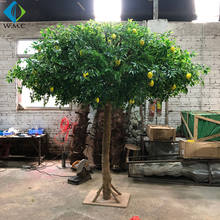 Artificial Lemon Plants Topiary Tree Office Home Decor