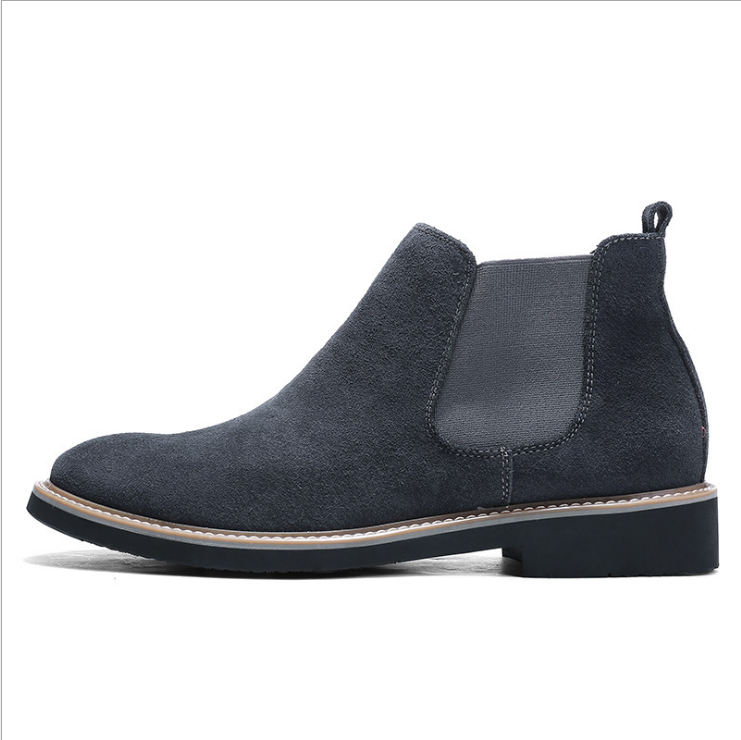 new arrivals designer wholesale winter ankle black men's business shoes chelsea boots men