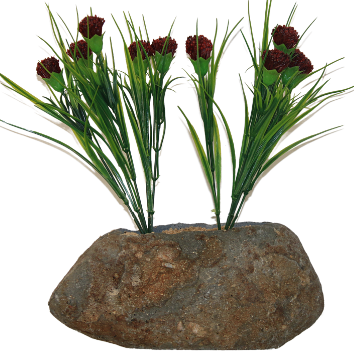 Wholesale Cheap Small Outdoor Balcony Stone Flower Planter Pots
