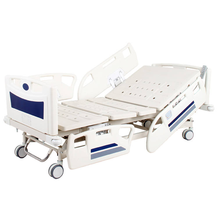 Hospital Bed Cheap Abs Plastic Side Rail Icu Clinic Multi-function Hospital Equipment Medical Electric Bed Prices
