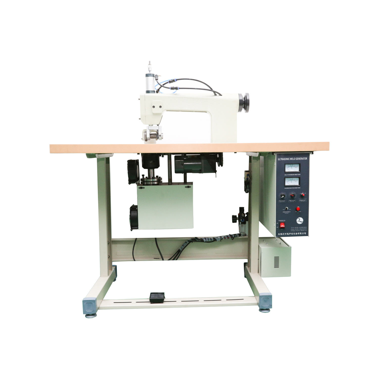Customized Best Price Desktop Sewing Ultrasonic Welding Machine Fabric