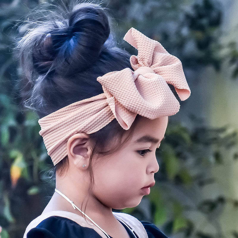 Feiyou 2020 hot selling Newborn Infant Toddler Hair Accessories baby headband ins style baby headband and bows