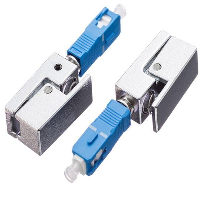SC UPC Çıplak fiber adaptör Optik Zayıflatıcı Telekomünikasyon Için fiber optik ekipman