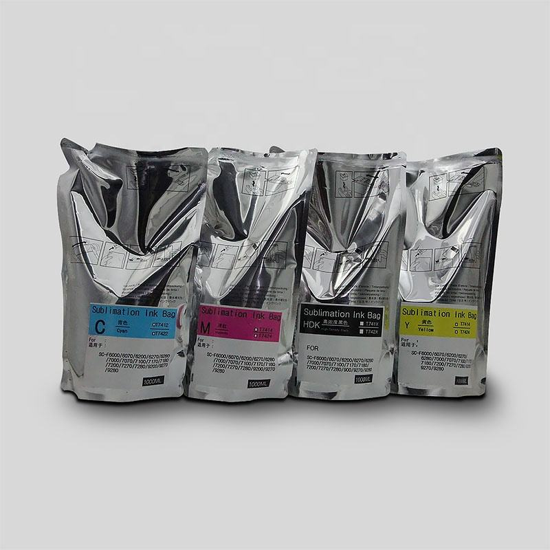 High Quality Sublimation Ink 1000ML for Epson SureColor F Series Printers With Chip