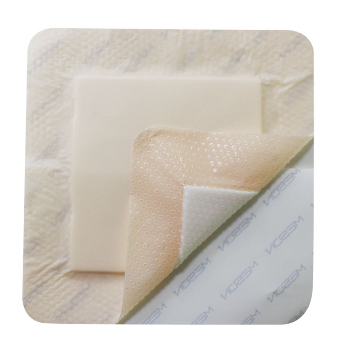 Wound Dressing Or Wound Care [ Silicone Medical Grade ] Silicone Foam Dressing Advanced Silicone Foam Dressing Medical Grade CE ISO FDA Super Absorbent