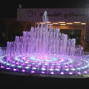 Water features qata fountains stainless steel LED small indoor fountain