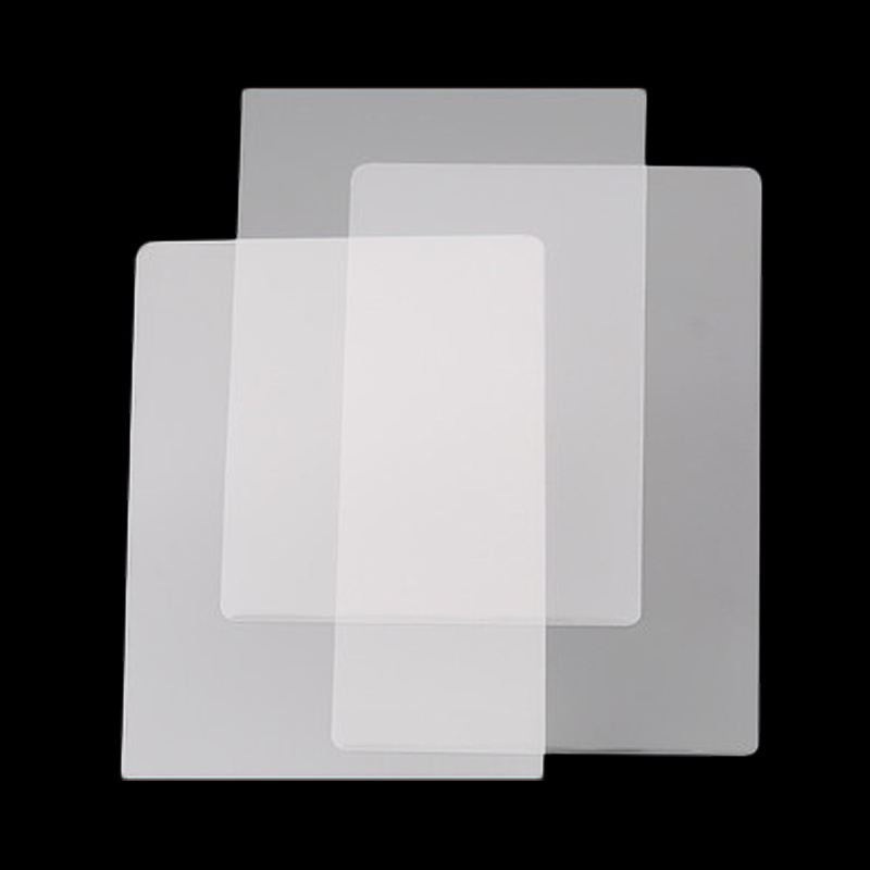 54*86mm Transparent Water proof Credit Card ID Card Laminating Film 75mic
