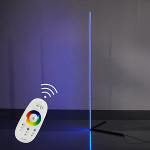 Western minimalist style RGB Colorful with remote control DC12v nordic minimalist led floor lamps standing corner light
