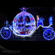 Wedding decoration cinderella pumpkin carriage for outdoor christmas event decoration