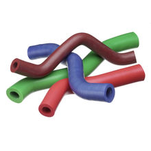 Pre-formed silicone sponge tubes