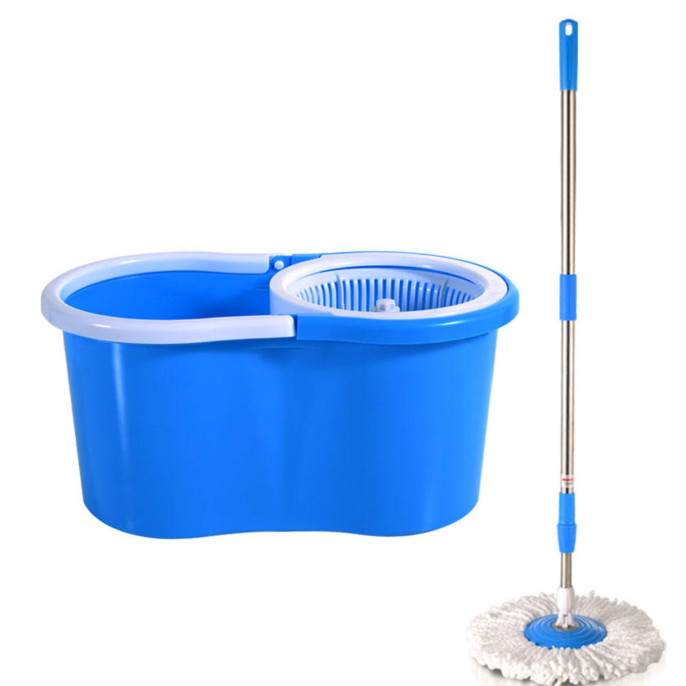 Wholesale Household Cleaning Mop 360 Spin Mop And Bucket Set Plastic